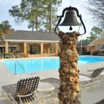 Our poolside gazebo is a popular venue year-round for birthday parties and other special events.